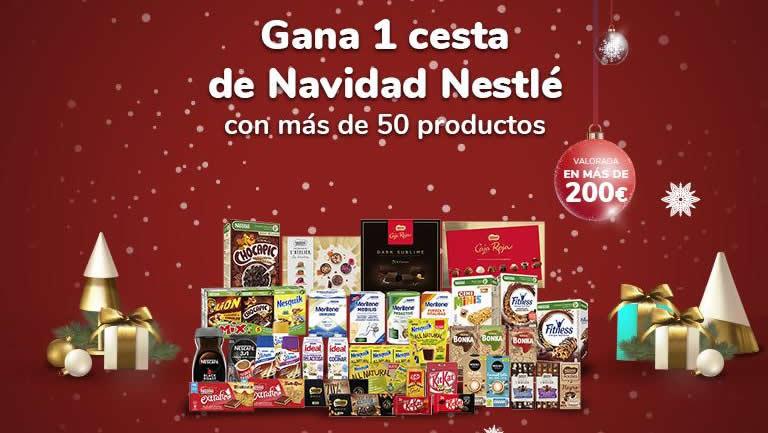 """Sorteo """"Cesta de Navidad 2020"""" de Nestlé"""