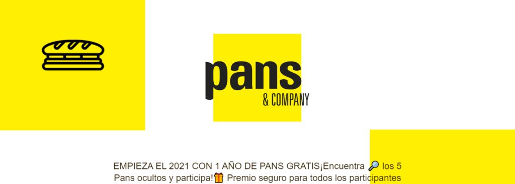 Consigue un año de Pans&Company Gratis