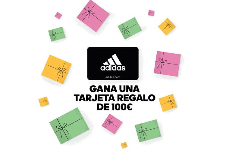 Sorteo de una tarjeta regalo por valor de 100 Euros con Adidas