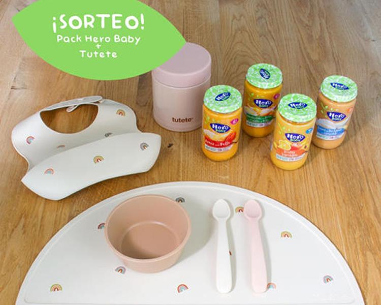 Consigue un completo pack de productos Hero Baby y Tutete para tu bebé