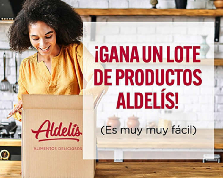 Gana un lote de productos Aldelís